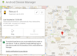 Android Device Manager - Guide to enable and use Experience real on Android OS