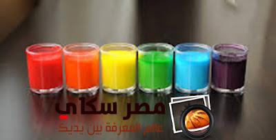 كيفية عمل الألوان الطبيعة من داخل المطبخ
