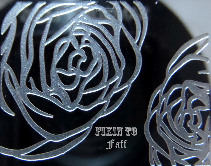 Rose full nail stamp image from Cici & Sisi plate 12.