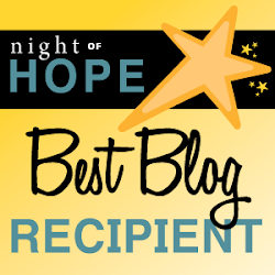 Resolve's 'The Hope Award for Best Blog' 2017