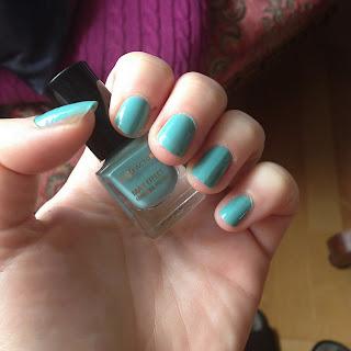 Mini Nail Polish von MaxFactor in Cool Jade