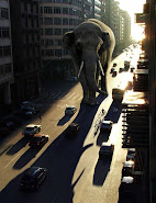 Lighting a Giant Elephant effect photoshop tutorial