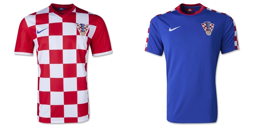 Kroasia - Jersey Grade Ori Piala Dunia 2014