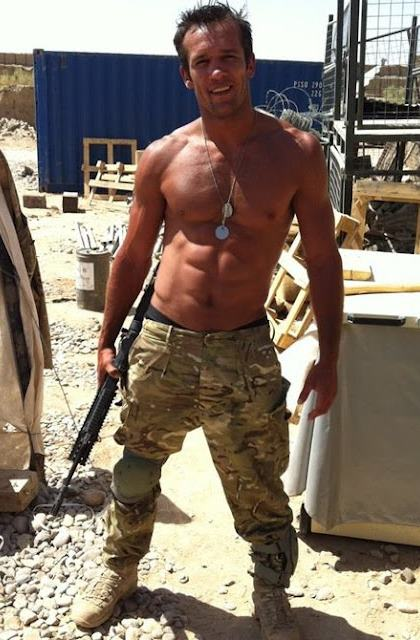 Sexy Muscular Military