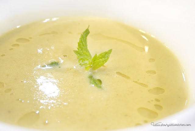 Apple and Celery Potage