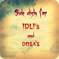 Side dish for idli and dosa
