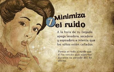 """""""Guía de la buena esposa - 11 reglas para mantener a tu marido feliz"""" - supuestamente publicado en 1953 por la Sección Femenina de Falange Española de las JONS Image8"""