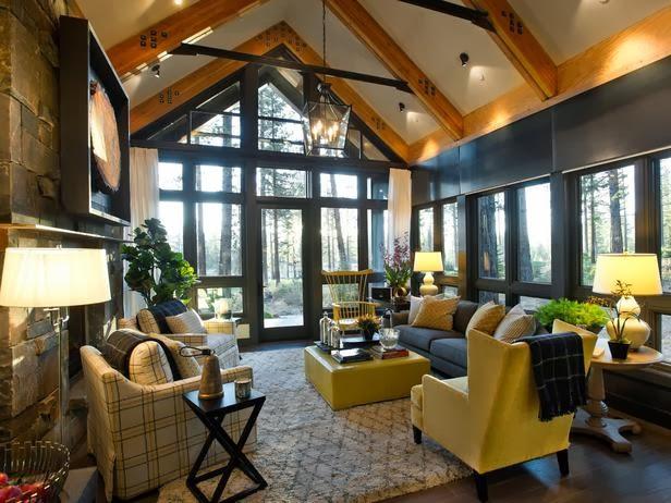 2014 HGTV Dream Home Living Room