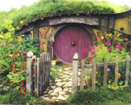 lord of the ring fanatics have even recreated scenery from tolkiens middle earth such as these hobbit houses - Lord Of The Rings Hobbit Home