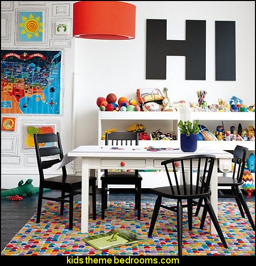 Wall Letters playroom wall decorations