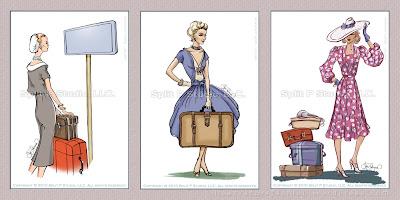 etiquettes bagages mode