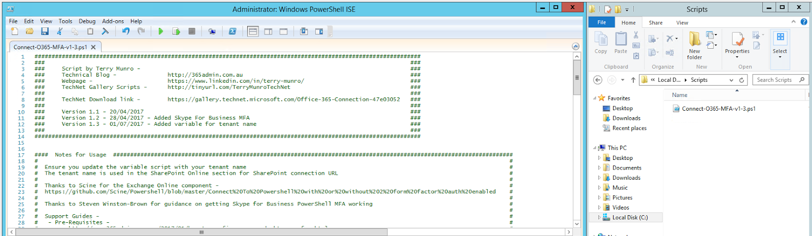 Download file using PowerShell commandlet - Stack Overflow