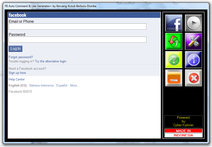 Facebook Auto Comment Like Generator Free Software