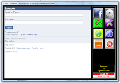 FB Auto Comment & Like Generator Plus v4.1.5 (CLOSED)