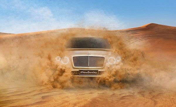 Bentley SUV, 2016 da
