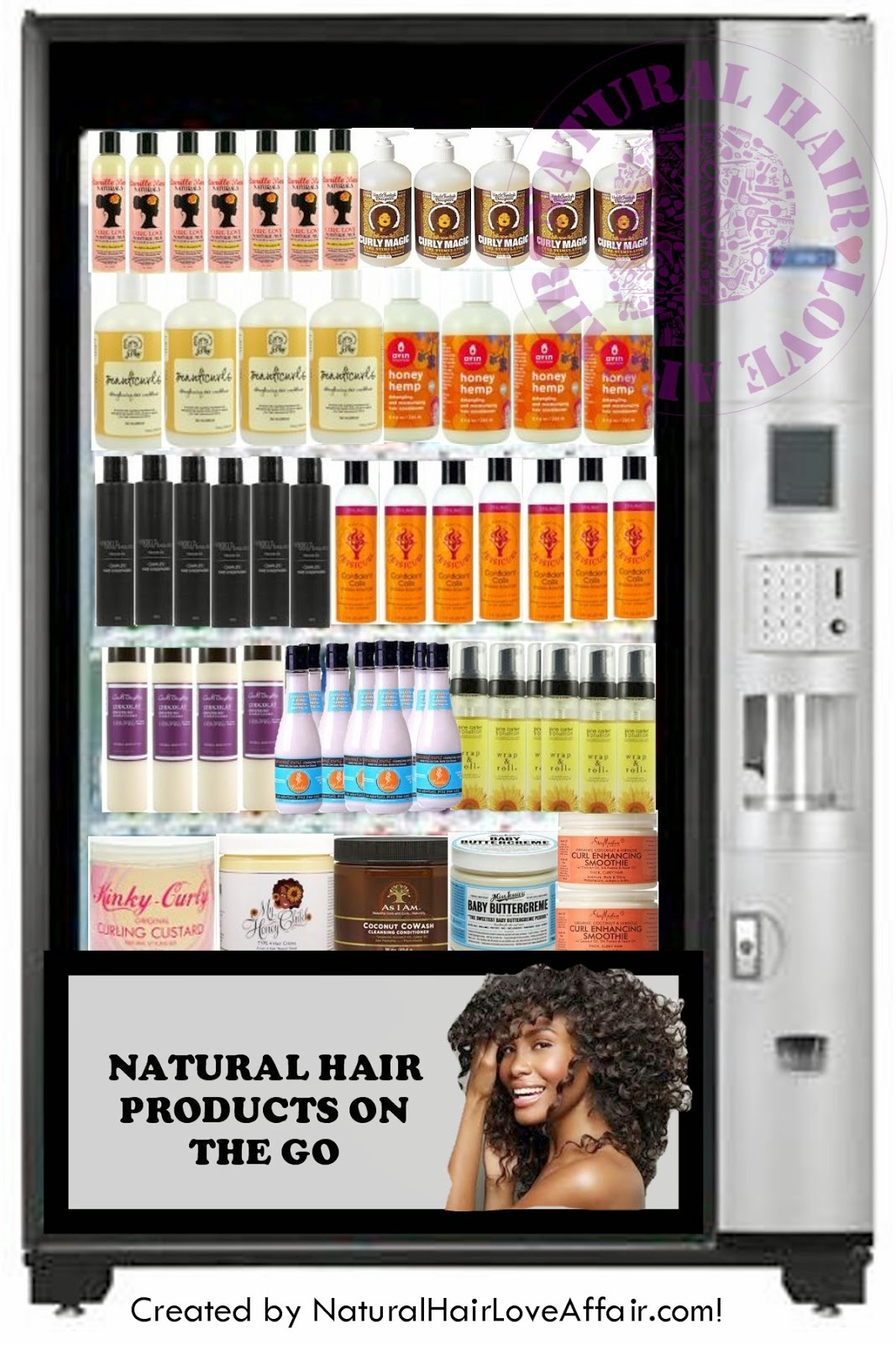 Hair accessories vending machines - Wednesday April 2 2014