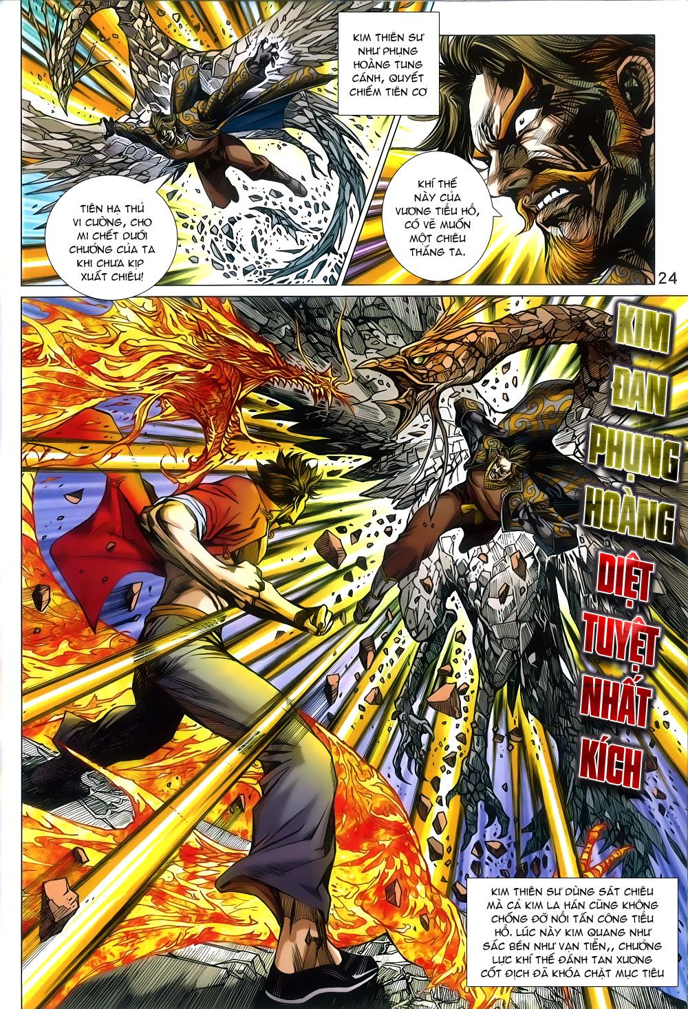 Tân Tác Long Hổ Môn chap 791 Trang 24 - Mangak.info