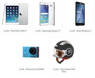 Isi Survey Indeks Kebahagiaan Berkendara 2016 Berhadiah Smartphone, Kamera, dan Helm