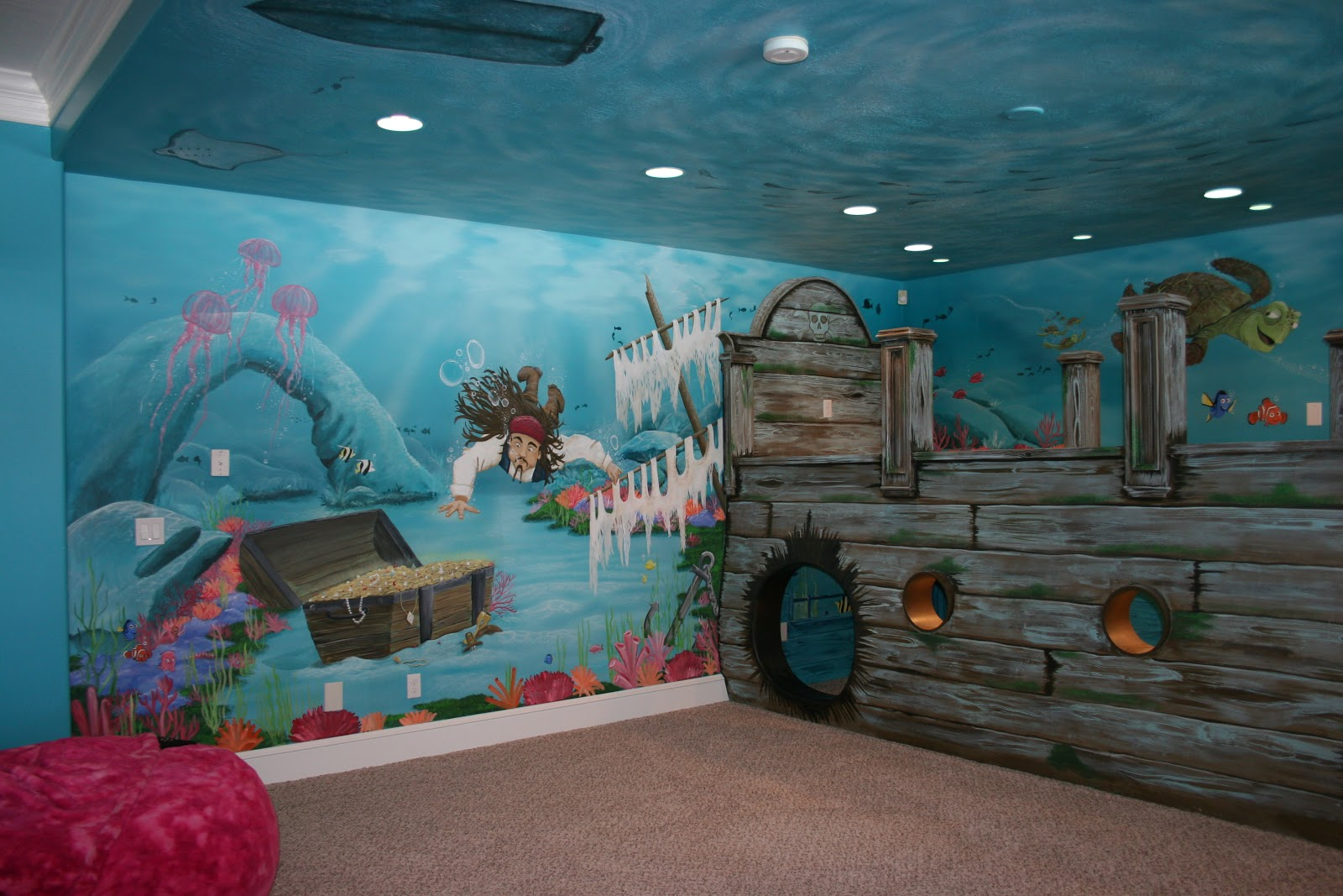 What child wouldn t love to play in this room for hours and hours