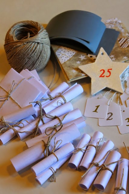 Diy Calendario dell'Avvento