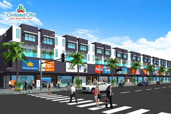 Khu đô thị Civilized City - Dự án VSIP II Bình Dương