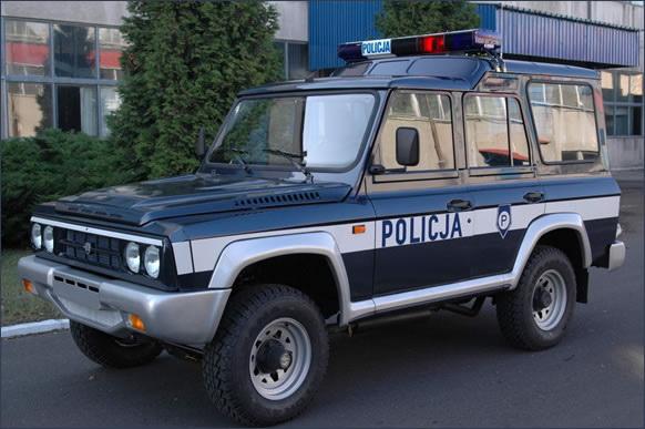 ARO 246 Police car