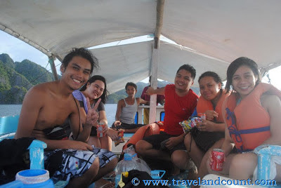 Island Hopping at Coron