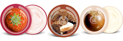 The Body Shop, The Body Shop Body Butter, The Body Shop Shea Body Butter, The Body Shop Strawberry Body Butter, The Body Shop Brazil Nut Body Butter, body cream, lotion, moisturizer, shea butter