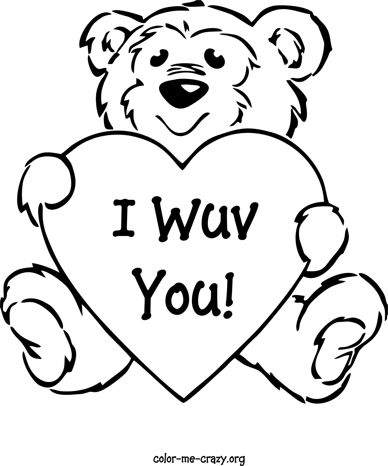coloring pages for valantine - photo#32