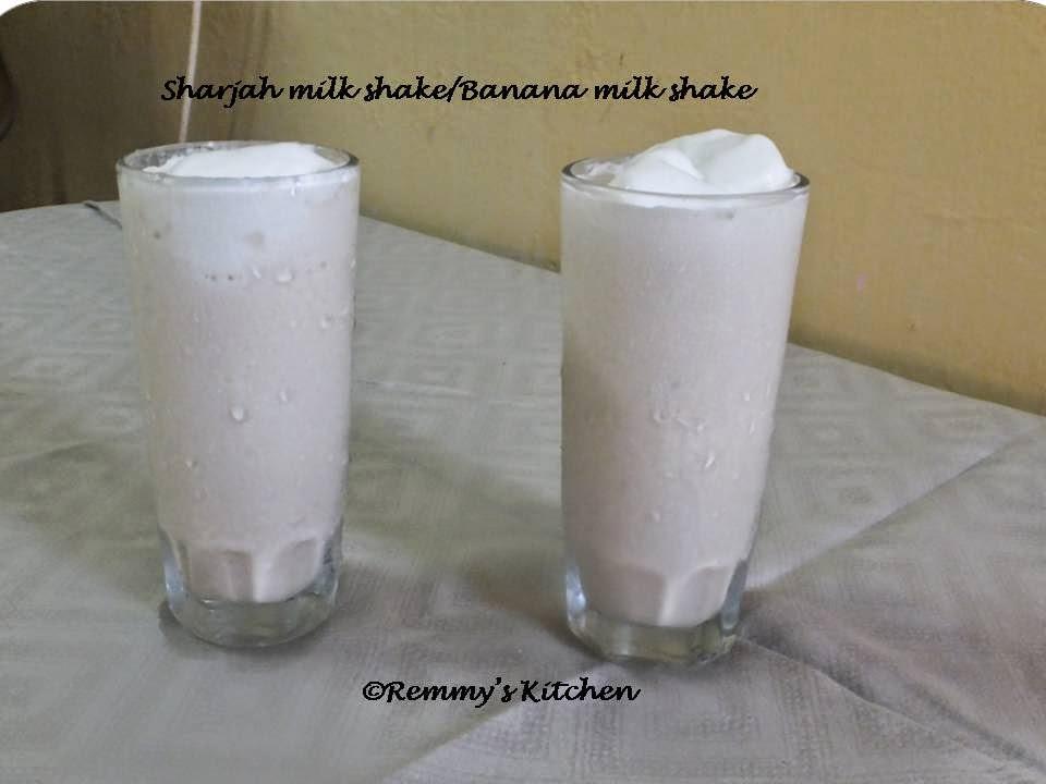 Sharjah shake/Banana milk shake