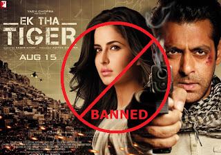 No Show Of 'Ek Tha Tiger' In Pakistan