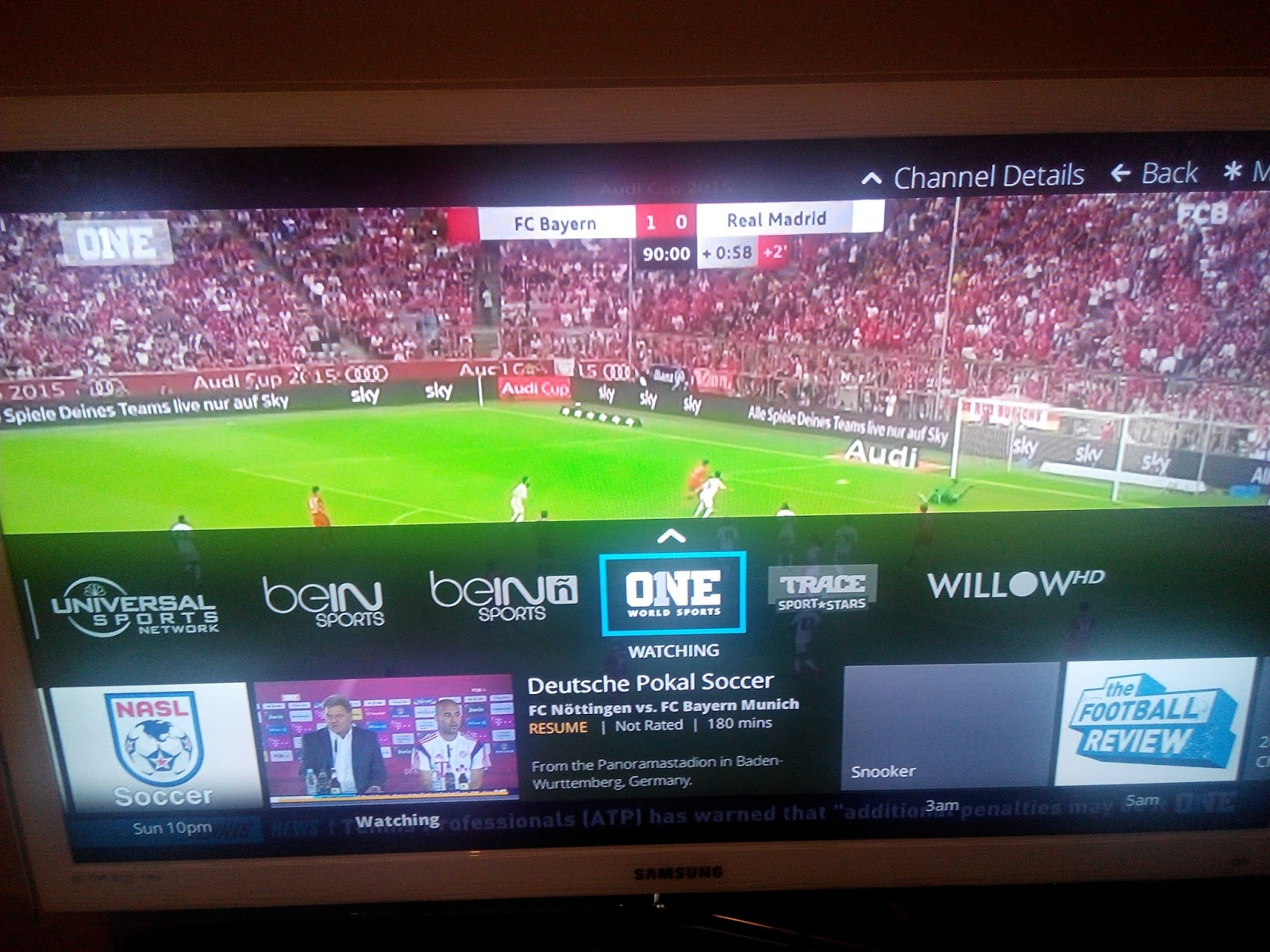 bein sports spain tv guide