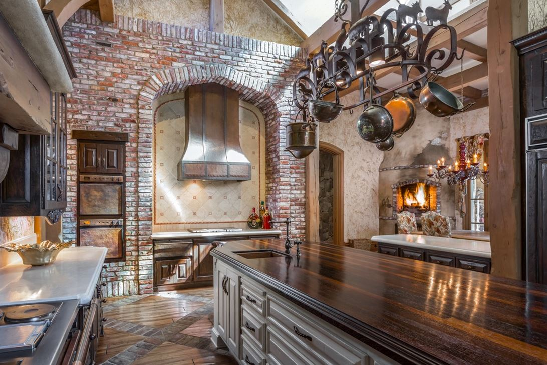 French country style castle in fairbanks ranch for French luxury