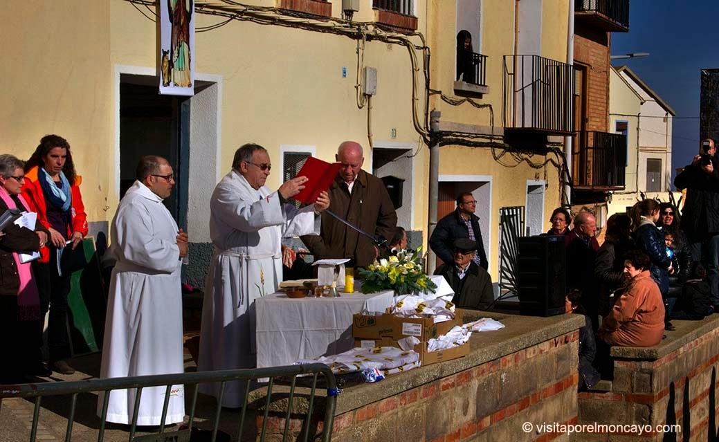 San Anton Tarazona bendicion de animales