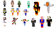 minecraft skins and mods. Minecraft skins. These are examples of skins