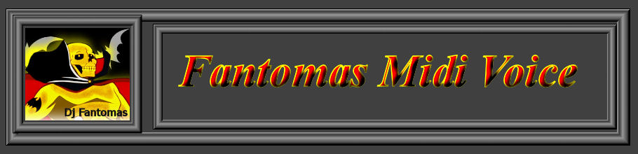 Fantomas Midi Voice Italiana