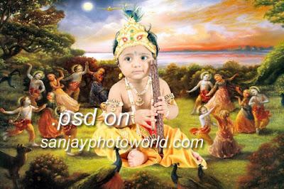 krishna psd backgrounds