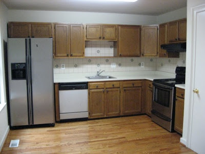 restaining kitchen cabinets before