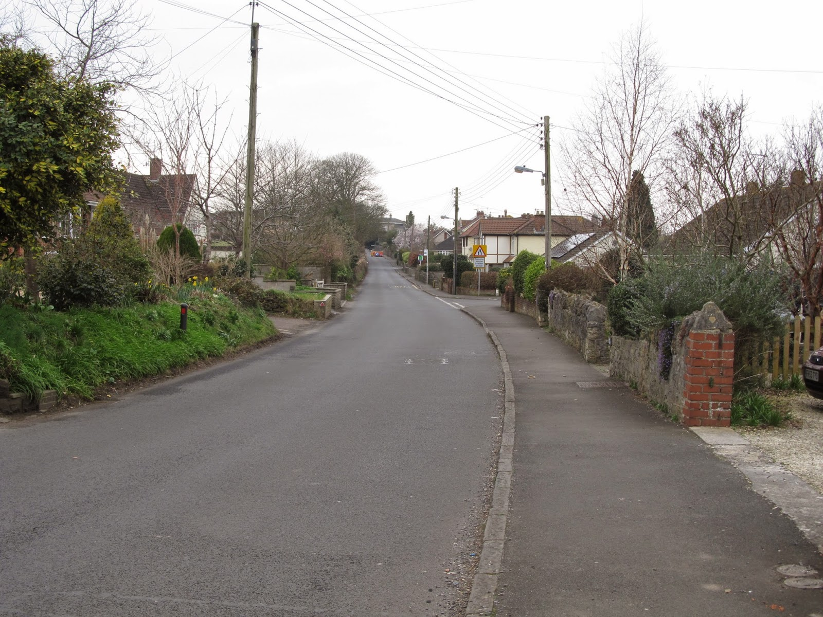 Image of road in Yatton