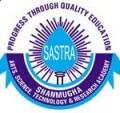 SASTRA University Results 2014