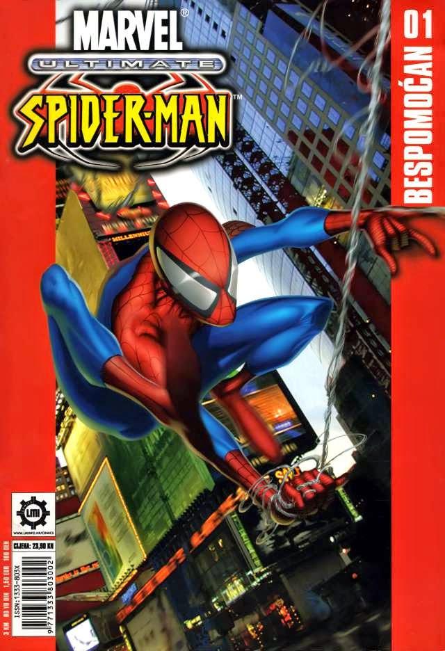 Spajdermen Bespomocan+-+Ultimate+spider-man+1