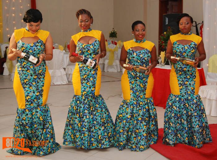 Excellent Clothing Nigerian Style Ghanaian Fashion African Women Dresses