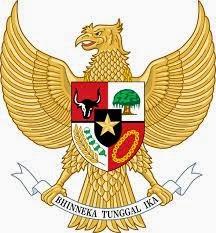 burung garuda icon indonesia