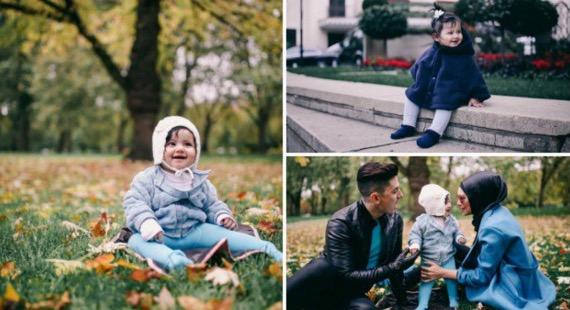 Baby Girl Rozita Che Wan dan Zain Saidin Sudah Pandai Bergaya