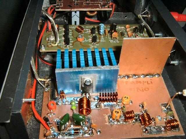 Radio & Elektronika: Merakit Booster untuk Pemancar Mini Ronica SC-197 ...