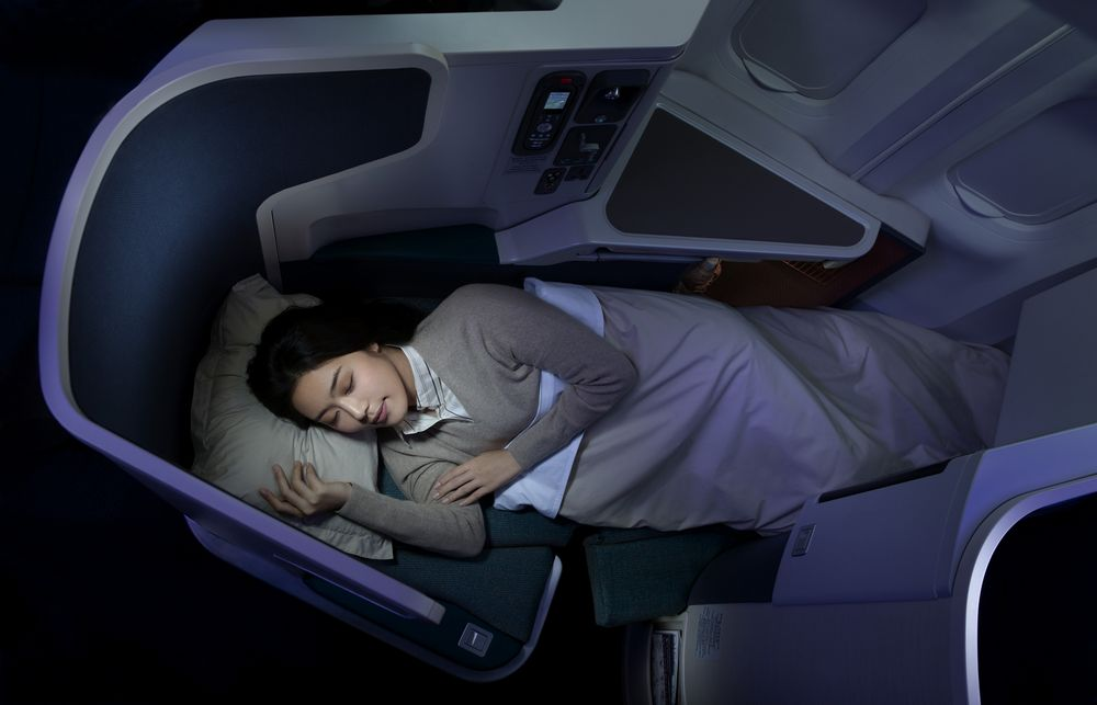 Cathay Pacific S New Business Class Premium Economy Class
