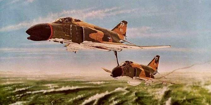 Kisah penyelamatan pesawat tempur paling dramatis di perang Vietnam