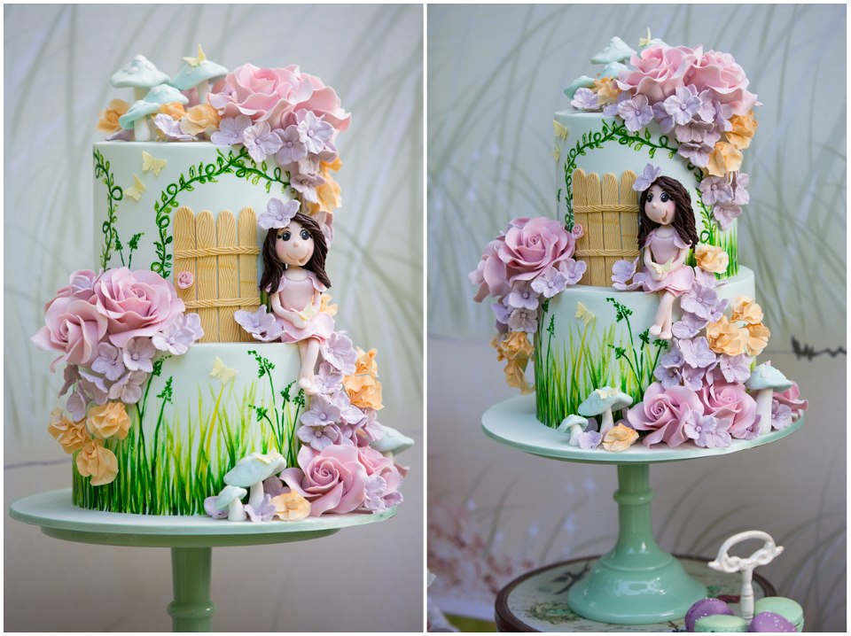 Party inspirations isabella 39 s enchanted fairy party for Fairy cakes