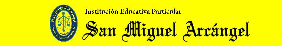 I.E.P. SAN MIGUEL ARCÁNGEL