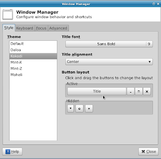 window manager linux mint xfce main menu